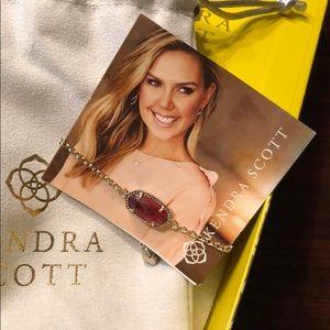 Kendra Scott Berry Elaina Bracelet NWT & Box/Pouch